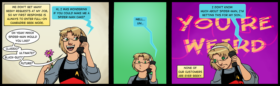 134: Unrequited Geekery