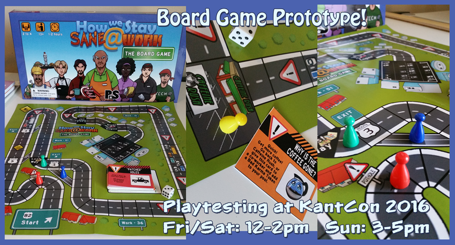 TPS Tues: Board Game Prototype!