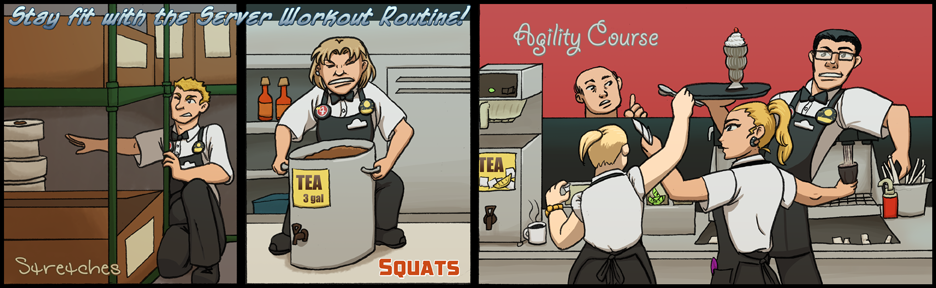 10: Server Workouts