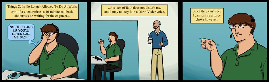 86: Lack of Faith
